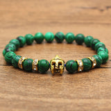 Green Malachite Rhinestone Bracelet [12 Variations]