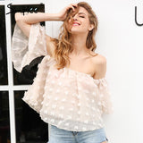 Off Shoulder Elegant Flare Lace