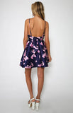 ‰ÏÀ Summer Print Sleeveless Backless Mini Halter Dress ‰ÏÀ