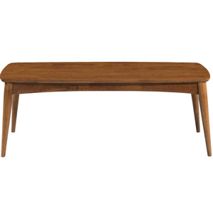 Oslo Mid Century Modern Walnut Center Coffee Table