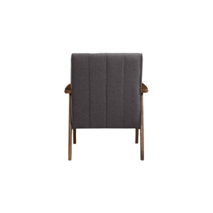 Aarhus Mid Century Modern Armchair Accent Chair Gray