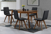 Milo 5 Piece Dining Set Navy