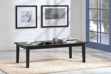 Milano Dark Brown Wood Coffee Table