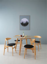 Ava 5 Piece Dining Set Natural Espresso