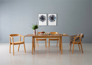 Kamran 5 Piece Dining Set Natural