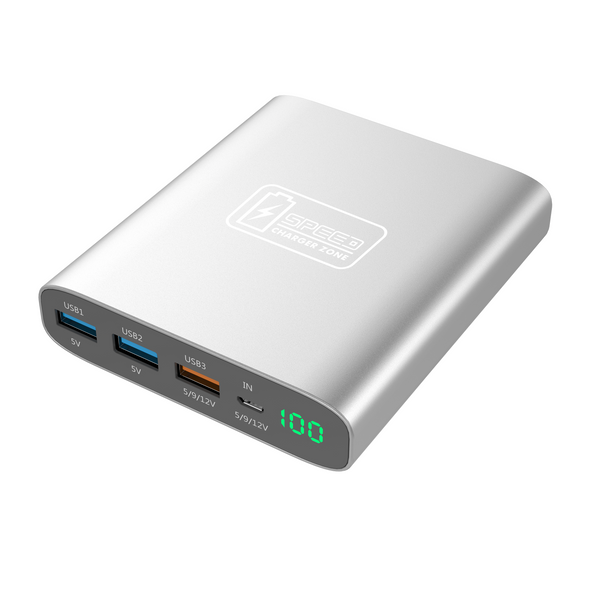 Quick Charge Portable Charger - 10,000 mAh