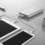 Portable Charger - Quick Charge (QC) Technology | 3 USB Ports | 20,000 mAh