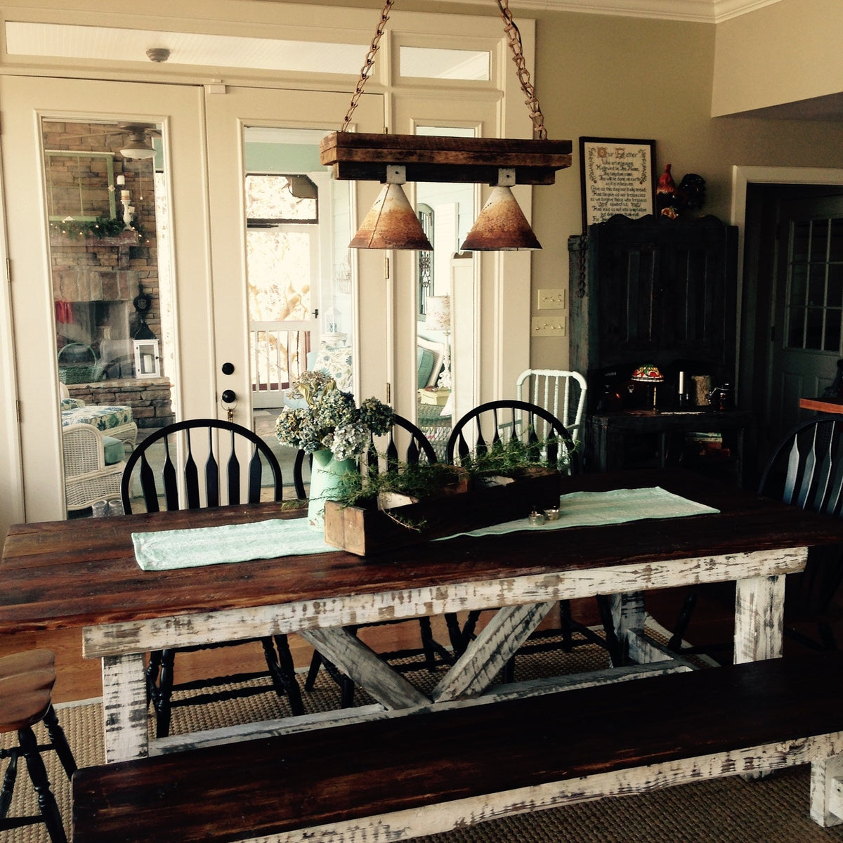 Authentic Reclaimed Wood Farm Tables