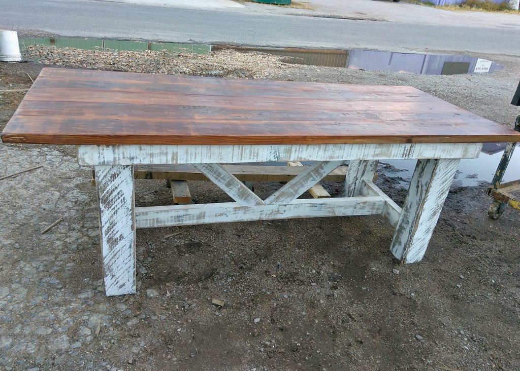 Design Your Own | Truss Beam Farm Table