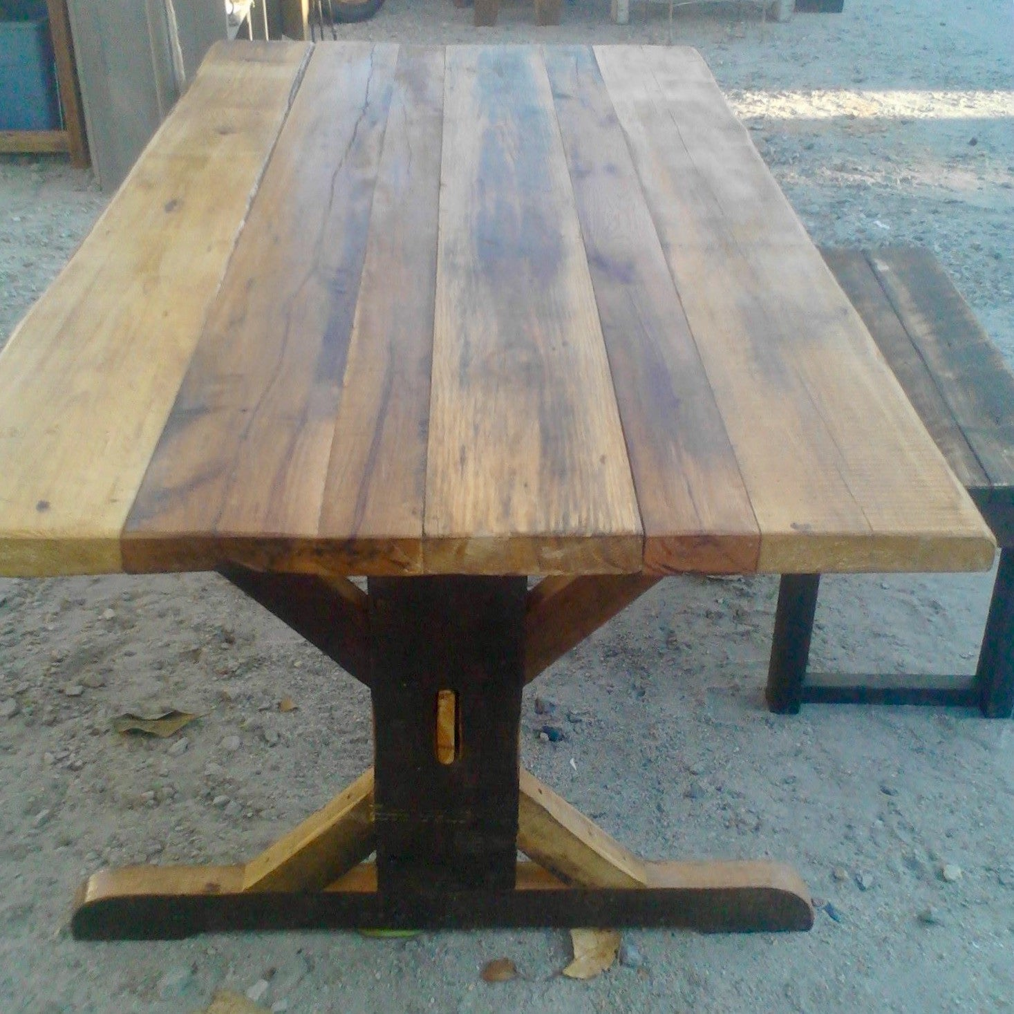Trestle Farm Table