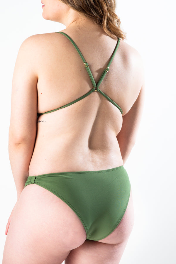 khaleesi bottom - olive