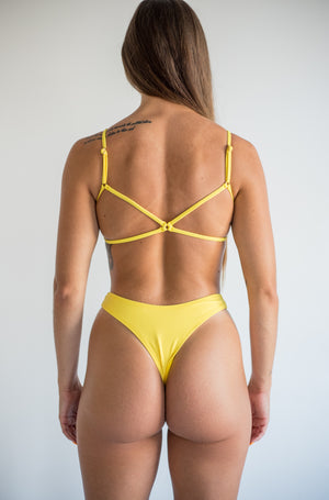 angel bottom - lemon yellow