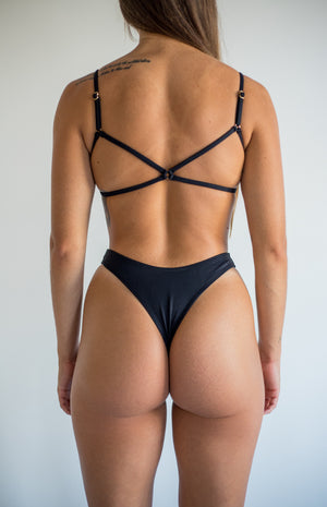 angel bottom - midnight black