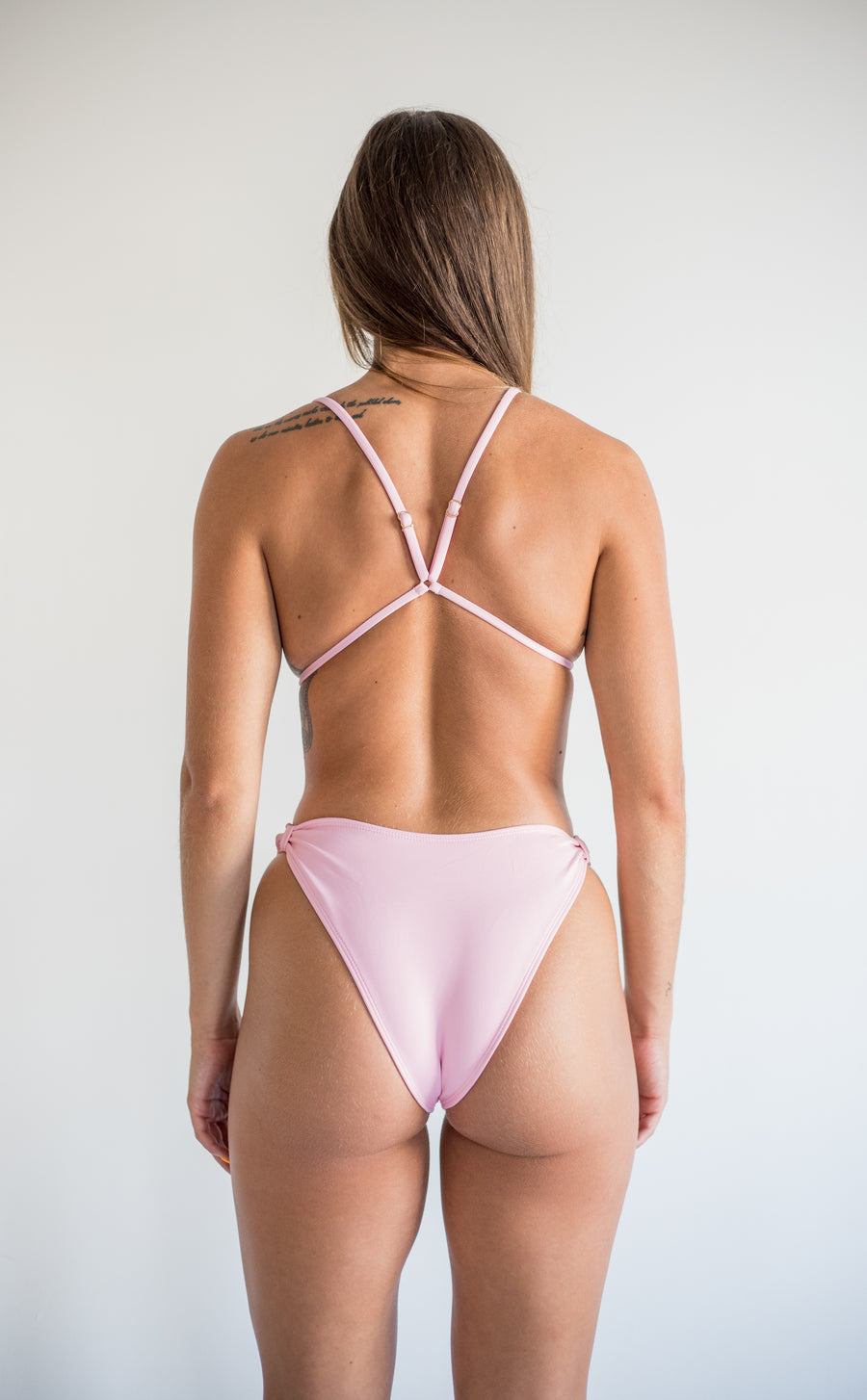khaleesi bottom - baby pink