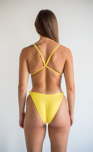 khaleesi top - lemon yellow