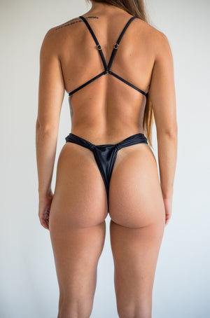 khaleesi bottom - midnight black