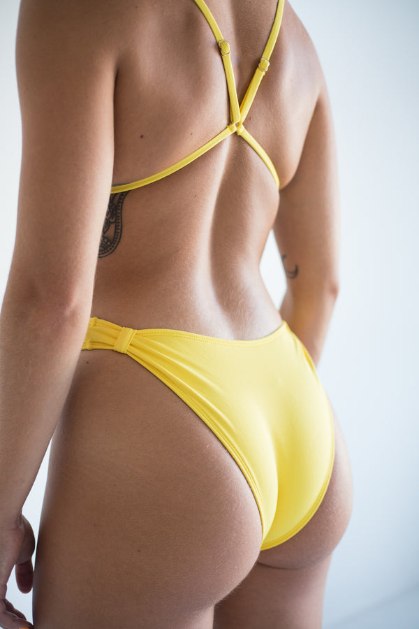 khaleesi bottom - lemon yellow