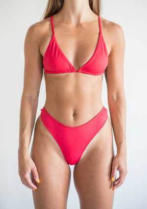 khaleesi bottom - lava red