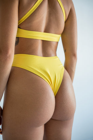 raven bottom - lemon yellow