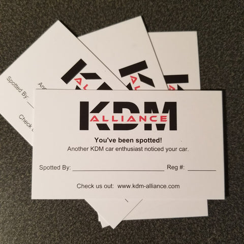 Business Cards - KDMA Spotted Cards