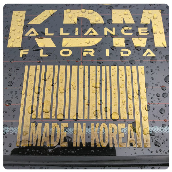 KDM Alliance State / Province / Country Sticker