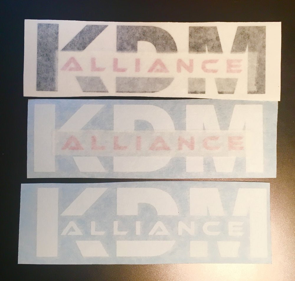 KDM Alliance Sticker