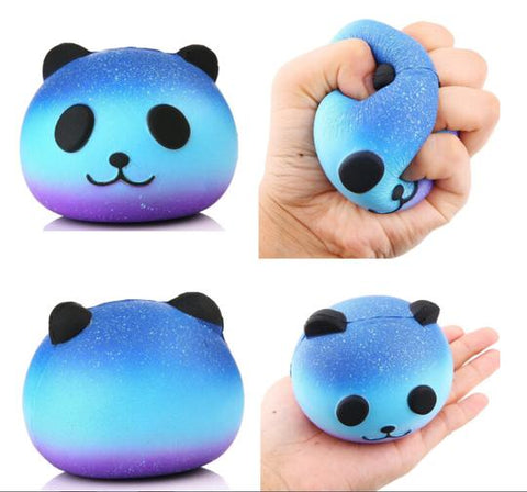 Blue Purple Panda Squishy - SquishyWishy