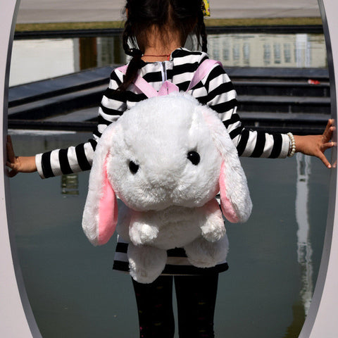 Cute Kawaii Plush Bunny Rabbit Backpack - SquishyWishy