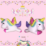 Kawaii Rainbow Unicorn Squishy  - Slow Rising - SquishyWishy