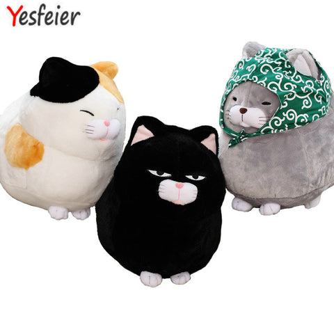 Big Face Kawaii Plushy Cat Stuffed Animal - SquishyWishy