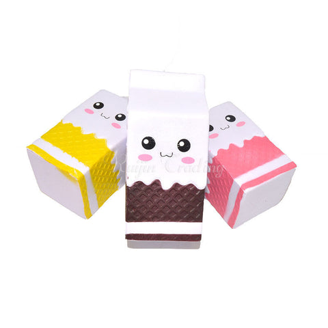 Cute Kawaii Jumbo Milk Carton Squishy - SquishyWishy