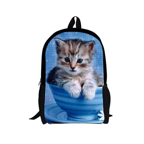 Cat kitten Backpack - SquishyWishy