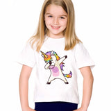 Dabbing Unicorn Tee Shirt - SquishyWishy