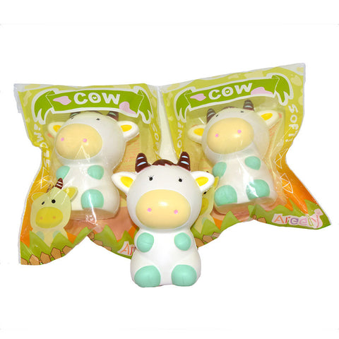 Jumbo Kawaii Cow Squishy  12.5cm - Slow Rising - SquishyWishy