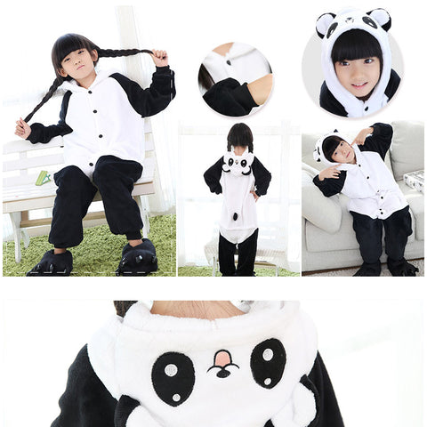 Kawaii Panda Bear Pajamas Onesie - Children - SquishyWishy