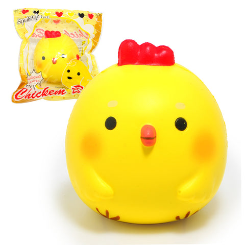 "3.9"" Kawaii Jumbo Chicken Baby Squishy - SquishyWishy"