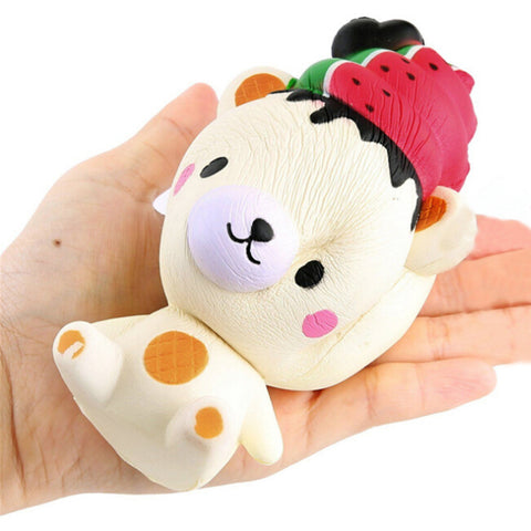 Jumbo Ice watermelon Bear Squishy - SquishyWishy