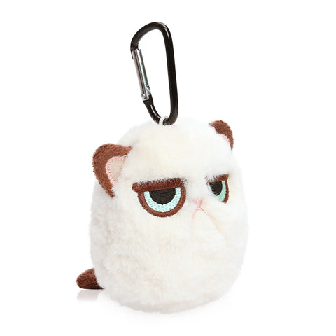 MICROPLUSH 12cm Grouchy Kitten Cat Plushy Clip