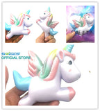 Kawaii 11CM Jumbo Colorful Unicorn Squishy - SquishyWishy