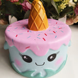 14CM Jumbo Squishy Colorful Unicorn Whale Cakes - SquishyWishy