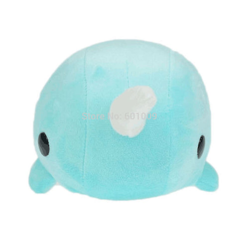 25CM Blue Narwhal Soft Plushy Stuffed Animal - SquishyWishy