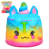 Kawaii Squishy Unicorn Mousse Cake Rainbow -Cream Scented Slow Rising