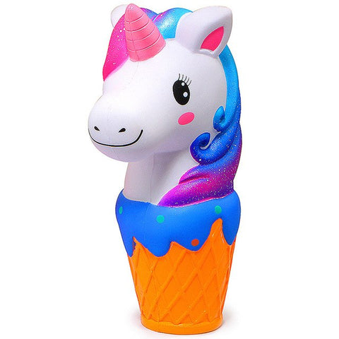 12CM unicorn ice cream cone squishy slow rising jumbo