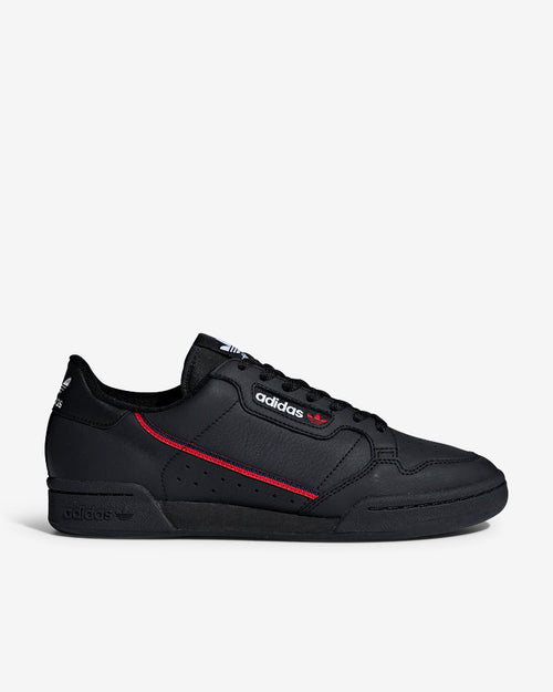 CONTINENTAL 80 - BLACK/SCARLET