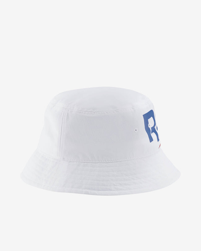 CL VECTOR BUCKET HAT - WHITE