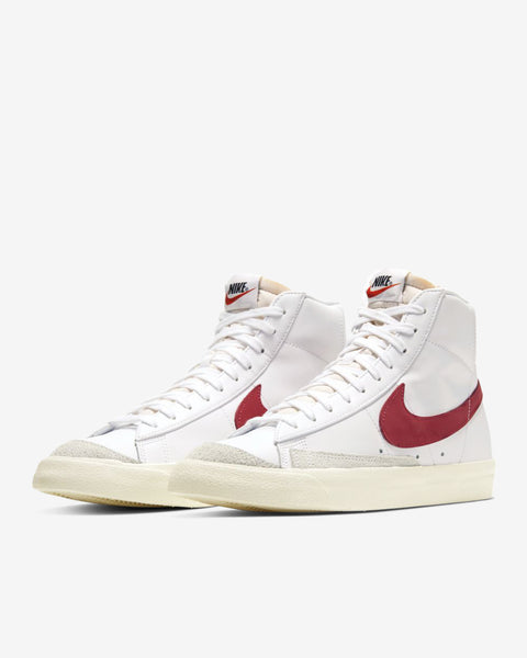 BLAZER MID '77 VNTG - WHITE/RED