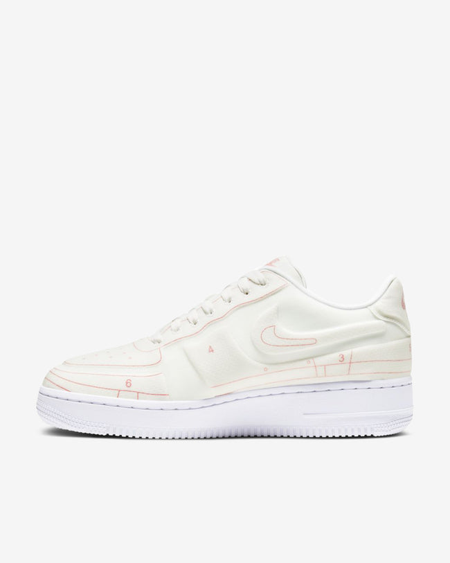 WMNS AIR FORCE 1 '07 LX - WHITE/RED