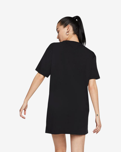 W NSW ESSNTL DRESS SS - BLACK/WHITE