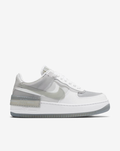 W AF1 SHADOW SE - WHITE/PARTICLE GREY