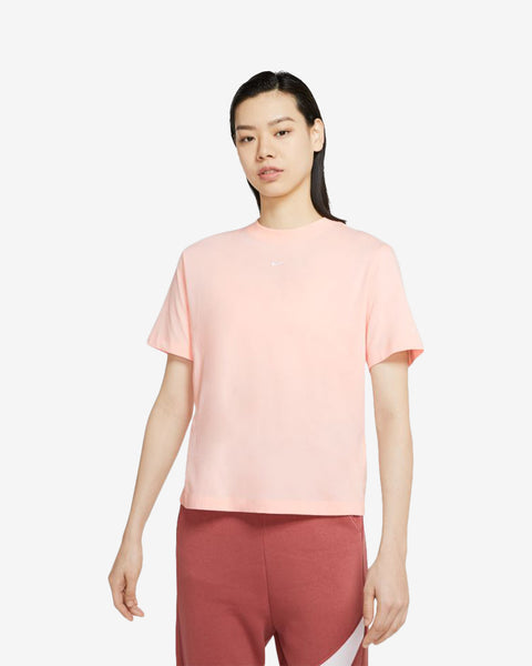W NSW ESSNTL TOP SS BF - PINK